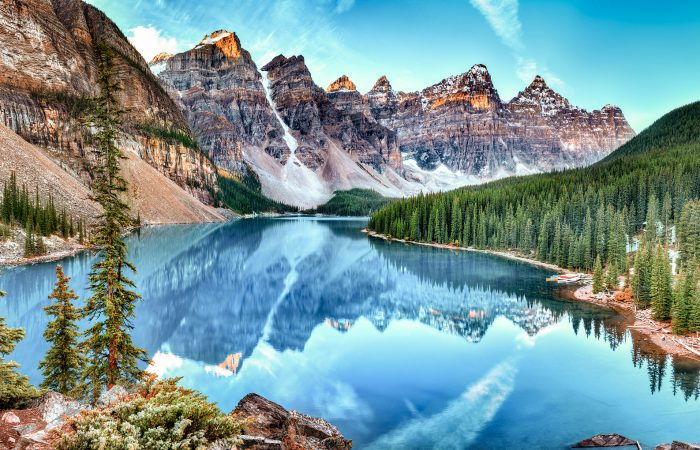 Moraine Lake Banff National Park, Alberta, Canada