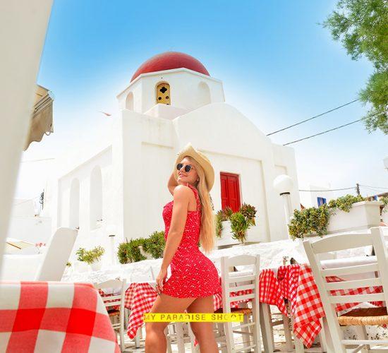 My Paradise Shoot In Mykonos